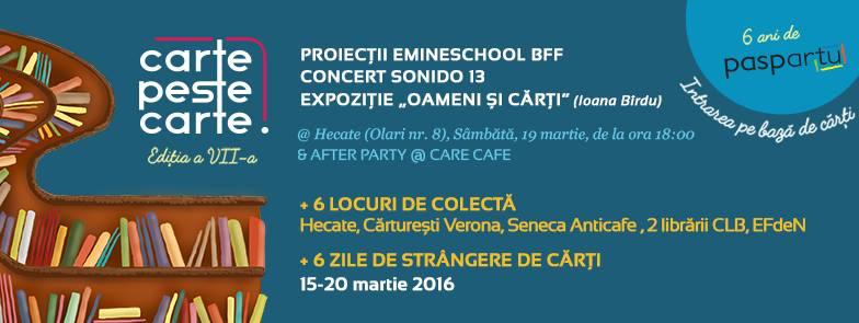 CARTE PESTE CARTE EDIȚIA A VII-A